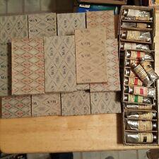 100+ Vintage Winsor & Newton Designers' Superfine Gouache Colour Dried Hard