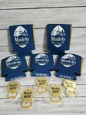 *New* Modelo Especial Football Coozie and Ufc Keychain bundle. 5-pack.