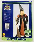Children's Halloween Costume~Glitter Witch~Dress Up- Size Large 12-14