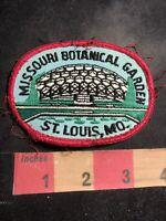 Vintage MISSOURI BOTANICAL GARDEN St. Louis Missouri Patch C95R