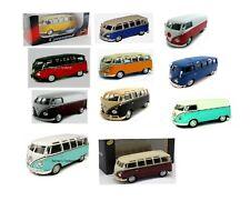 Cararama Modellauto VW T1 Samba Bus / Van + Transporter 1:43 - NEU in OVP