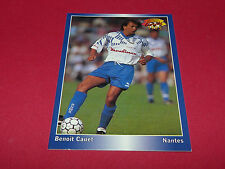 BENOIT CAUET SM STADE MALHERBE DE CAEN  NANTES PANINI FOOTBALL CARD 1994-1995