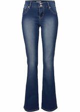 Neu Power-Stretch Bootcut-Fit Jeans, 971524 in Dunkelblau 34