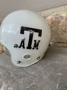 Vintage Texas A&M Aggies 70s Game Issued MacGregor Clear Shell Football Helmet