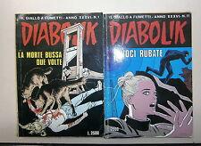 DIABOLIK # Anno XXXVI N.1-11 # Fumetti # Casa Editrice Astorina