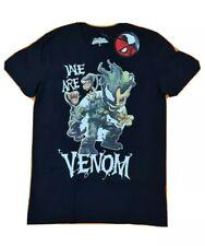 Marvel Spiderman Groot Maximum Venom black T-shirt Size S