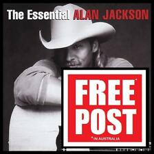 ALAN JACKSON (2 CD) THE ESSENTIAL ~ JIMMY BUFFETT~ZAC BROWN ~ 90's COUNTRY *NEW*