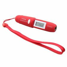 Mini Pen Type Non-Contact Infrared IR Digital LCD Thermometer+L1154 Cell Battery