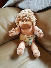 Vintage Cabbage Patch Kids CPK Wheat Blonde Green Eyes Single Pony HM#9 KT 1985