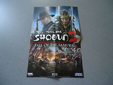 Total War Shogun 2 Fall of the Samurai Double Sided Folded Poster