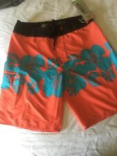 RIP CURL MIRAGE Surf Shorts SIZE 38 BOARDSHORTS Tropical Punch  MSRP $54.50