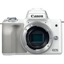 Canon EOS M50 Mirrorless Digital Camera (Body Only, White)