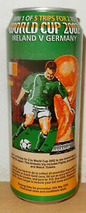 2002 ROYAL DUTCH Beer WORLD CUP SOCCER can from HOLLAND 50cl)  Empty !!