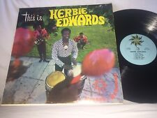 HERBIE EDWARDS - THIS IS HERBIE - TROPICAL RECORDS LP - SIGNED