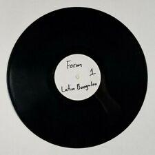 "JOE WEBB Latin Boogaloo 12"" Urban LATINBOOG001 UK 2004 VG+ TEST PRESSING 4F"