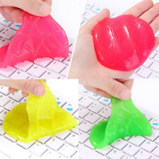 Magic Soft Sticky Clean Glue Gum Silica Gel Car Keyboard Dust Dirt Cleaner Cute