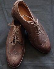 Polo Ralph Lauren Moseley Leder Oxfords Schuhe Herren Dunkelbraun Gr 41