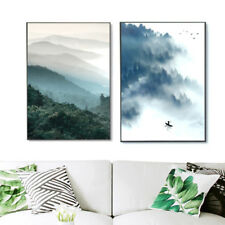 Nordic Art Forest Motivational Minimalist Canvas Art Poster Wall Decor Paintings