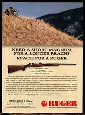 2004 RUGER M77 Mark II MKII Short Magnum Rifle AD Advertising