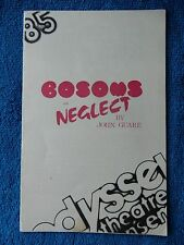 Bosoms And Neglect - Odyssey Theatre Playbill - 1986 - Sam Anderson - Bay