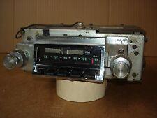 1966 66 CHEVELLE ORIGINAL AM/FM STEREO RADIO NOS QUALITY RARE 986529 SUPER SPORT