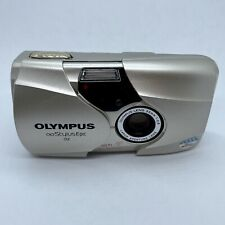 Olympus Stylus Epic Dlx 35mm Point & Shoot Film Camera 35mm f/2.8 Works Great