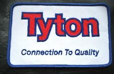"""TYTON CONNECTION TO QUALITY EMBROIDERED SEW ON PATCH HELLERMANN CABLE 5"""" x 3 1/4"""