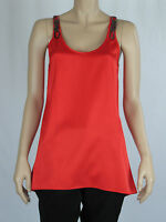 Wayne by Wayne Cooper Sunset Ladies Sleeveless Fashion Top size 8 Colour Red