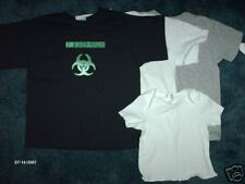 Biohazard T-Shirts 2/4T ,6/8,10/12 Or Baby 6 Or 12 Months Band