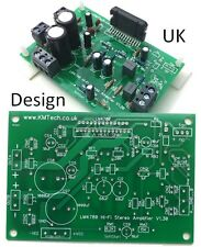 Pack Of Five Lm4780 HiFi Stereo Amp V1.4.0 2 x 60W Rms Pcb Diy