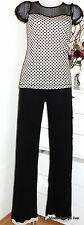 Vive Maria NEU Hose My Romance Pyjama Pants 42 XL long black trousers schwarz