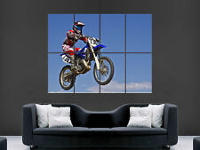 """MOTOCROSS JUMP  ART WALL PICTURE POSTER  GIANT HUGE """""""