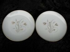 Vintage Noritake Fine China #5810 Laverne 2 Bread and Butter Plates Discontinued
