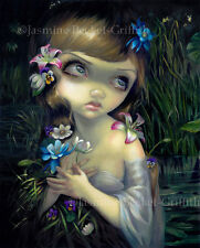 Jasmine Becket-Griffith art print SIGNED Portrait of Ophelia hamlet shakespeare