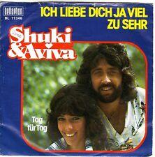 """""""7"""" - SHUKI & AVIVA - Ich liebe dich ja viel zu sehr"""