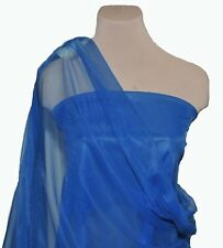"""NYLON TRICOT KNIT  SHEER LINGERIE FABRIC ROYAL 108"""" WIDE BTY"""
