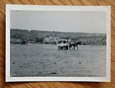 Old Photograph - Beach Ride Horse Cart - Unidentified Location