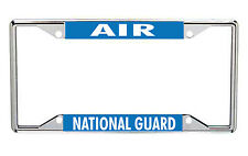Air National Guard Metal License Frame Every State