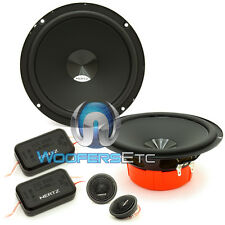 "HERTZ DSK 165.3 CAR AUDIO 6.5"" COMPONENT SPEAKERS MIDS TWEETERS CROSSOVERS NEW"