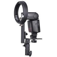 Speedlite Bracket type L with Canon/Nikon Hot-shoe for Bowens-S mount