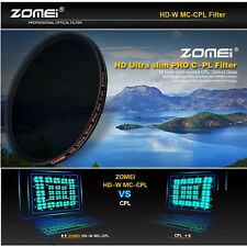 Zomei 67mm Slim HD Circular Polarizing Polarizer CPL Filter for Canon Nikon lens