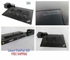 IBM Lenovo ThinkPad Mini Dock Series 3 4337 Docking Station T410 T510 T412