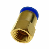 """10mm Tube OD X 1/4"""" BSPT Air Pneumatic Brass Push Fitting  Female Connector"""