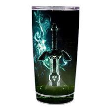 Skin Decal  for Ozark Trail 20 oz Tumbler Cup (5-piece kit) / Master Sword Desi