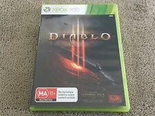 DIABLO III  - XBOX360 XBOX 360 - PAL - COMPLETE - DIABLO 3 - FREE POST