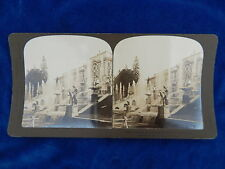 STEREOVIEW - H.C. WHITE CO - 4732 PALACE OF PETERHOF RUSSIA  - TOP !