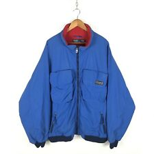 Vintage Polo Ralph Lauren Fleece Lined Pocket Jacket Size 3XL Blue