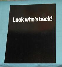 vintage BASKET CASE 2 video store ADVERTISING BROCHURE