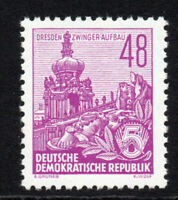 East Germany 48pf Stamp c1953-55 Unmounted Mint Never Hinged (5301)
