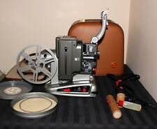 Vintage 8mm film projector.. Bolex Paillard M8 - case, key, B-P reel, works, C7